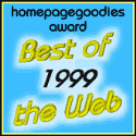 The Homepagegoodies Award